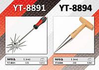 Конус посадочный с деревянной ручкой 280мм, YATO YT-8894