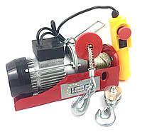 Тельфер, лебедка электрическая Euro Craft Польша 150/300 кг (HJ202)