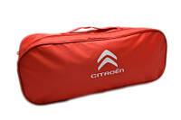 Сумка-органайзер в багажник Citroen червона