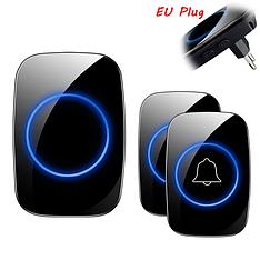 Бездротовий розумний дверний дзвінок 300м водостійкий (з двома кнопками)