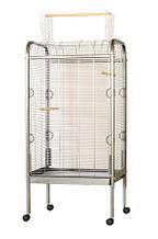 Вольєр для папуг OMEGA 2 Хром (прут 4) 56*71*146 см Inter-Zoo