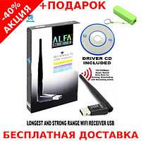 USB WiFi Alfa W113 Wireless-N Adapter WLAN 802.11 + powerbank 2600