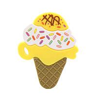 Прорезыватель Мороженое, желтый Berni
