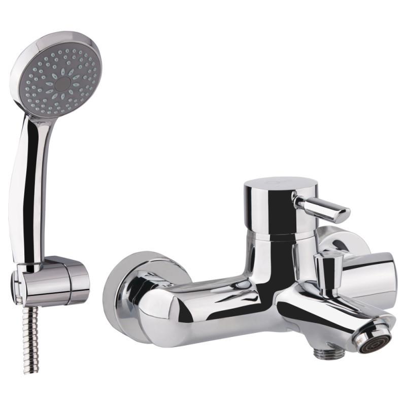 QT Elit СRM 006 Смеситель для ванны однозахватный с коротким изливом, картридж 40 мм