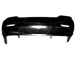 Бампер задний BYD F3 черный (FPS). 17080200F3004