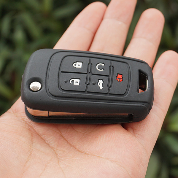 Силиконовый чехол для ключа Chevrolet Aveo Cruze Orlando Captiva Tracker tahoe Malibu Volt Colorado Chevy Spar