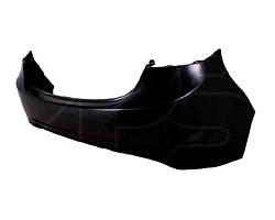 Бампер задний Hyundai Elantra 11- (один выхлоп) черный (FPS). 8866113X001