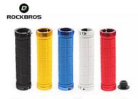 Гріпси ROCKBROS 2 замка/ручки на велосипед велогрипсы