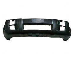 Бампер передний Hyundai Tucson 04-13 черный с отверстиями под противотуманные фары (FPS). 865112E040