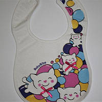 """Слюнявчик дитячий нагрудний на липучці """"Baby Bibs"""" Турція, фото 1"""