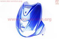 Пластик - основной где фара  синий на скутер Velon