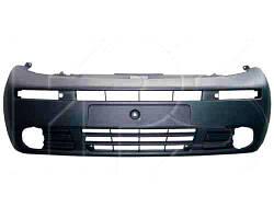 Бампер передний Renault Trafic, Opel Vivaro 02- (тип Vivaro) с отверстиями повторителя (FPS)