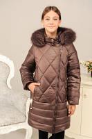 Куртка детская зимняя с капюшоном