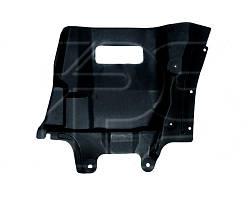 Защита двигателя боковая левая Mitsubishi Outlander I (FPS)