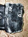 Кожа натуральная с мех мужские перчатки только оптом, фото 3
