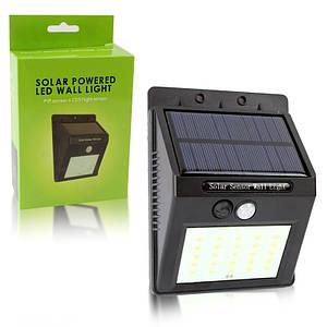 Универсальный светильник на солнечной панели с датчиком движения Solar Powered Led Wall Light 149103
