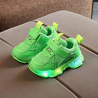 Кроссовки детские Superа зеленые