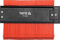 Трафарет ( шаблон ) для копирования сложных профилей 125 мм Yato YT-3735