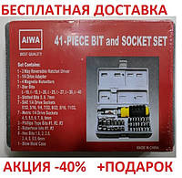 Набор инструмента AIWA PT/DR-18 41-Piece bit and Socket Set