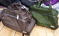 Универсальные дорожные сумки на колесах, в комплекте 2 шт (маленькая и большая)