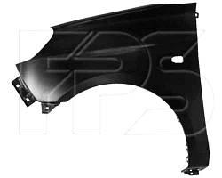 Крыло левое KIA Picanto 08-11 -отверстие под молдинг +отверстие под указатель переднее (FPS). 6631107000