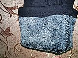 ТРИКОТАЖ с махра женские перчатки стильная только оптом, фото 4