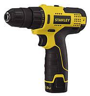 Аккумуляторная дрель Stanley STCD1081B2-B9