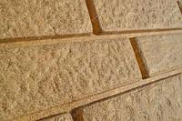 Цокольная панель Ю-ПЛАСТ Stone-House Кирпич песчаный. Цокольный сайдинг. Опт/розница.