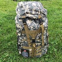 Рюкзак туристический каркасный для похода и рыбалки  Fashion Backpacks 70 л