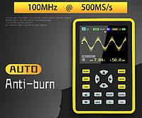 100 мГц 500MSa/s Осциллограф DANIU ADS5012H  Цифровой портативный карманный FNIRSI-5012H