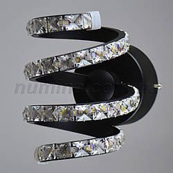 Бра LED YM-Y007/1W BK