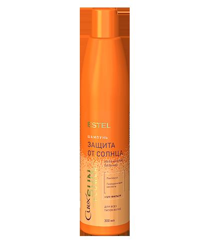 Шампунь «Увлажнение и питание» с UV-фильтром для всех типов волос CUREX SUN FLOWER