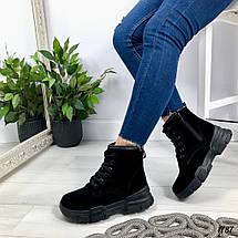 Осенние ботинки на шнурках, фото 2