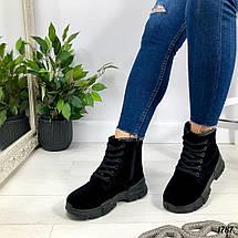 Осенние ботинки на шнурках, фото 3