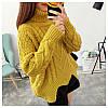 Вязаный свитер с узорами 42-46, фото 7