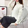 Вязаный свитер с узорами 42-46, фото 4