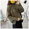 Вязаный свитер с узорами 42-46, фото 6