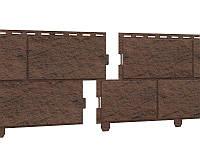 Цокольная панель Ю-ПЛАСТ Stone-House Камень жженый. Цокольный сайдинг. Опт/розница.