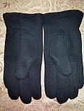 Трикотаж с махра перчатки мужские только оптом, фото 3