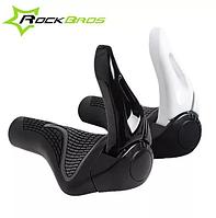 Гріпси ергономічні для керма велосипеда з рогами RockBros