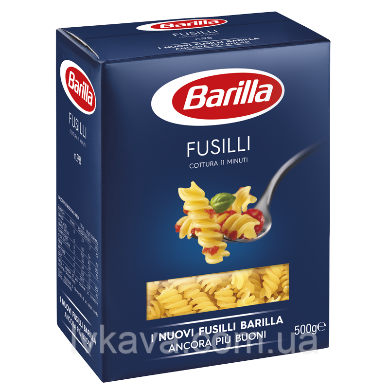 Макаронные изделия Fusilli  Barilla, 500 гр