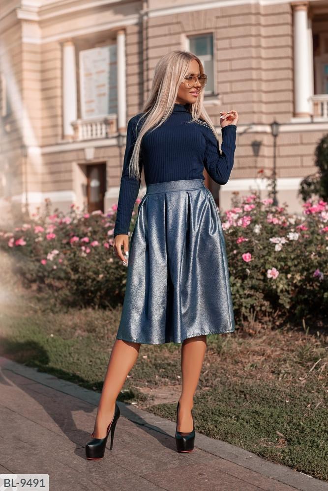 Женский костюм юбка+гольф