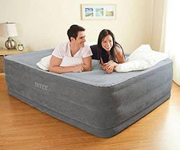 Надувная кровать Intex 64418 (203х152х56) - электронасос., фото 2