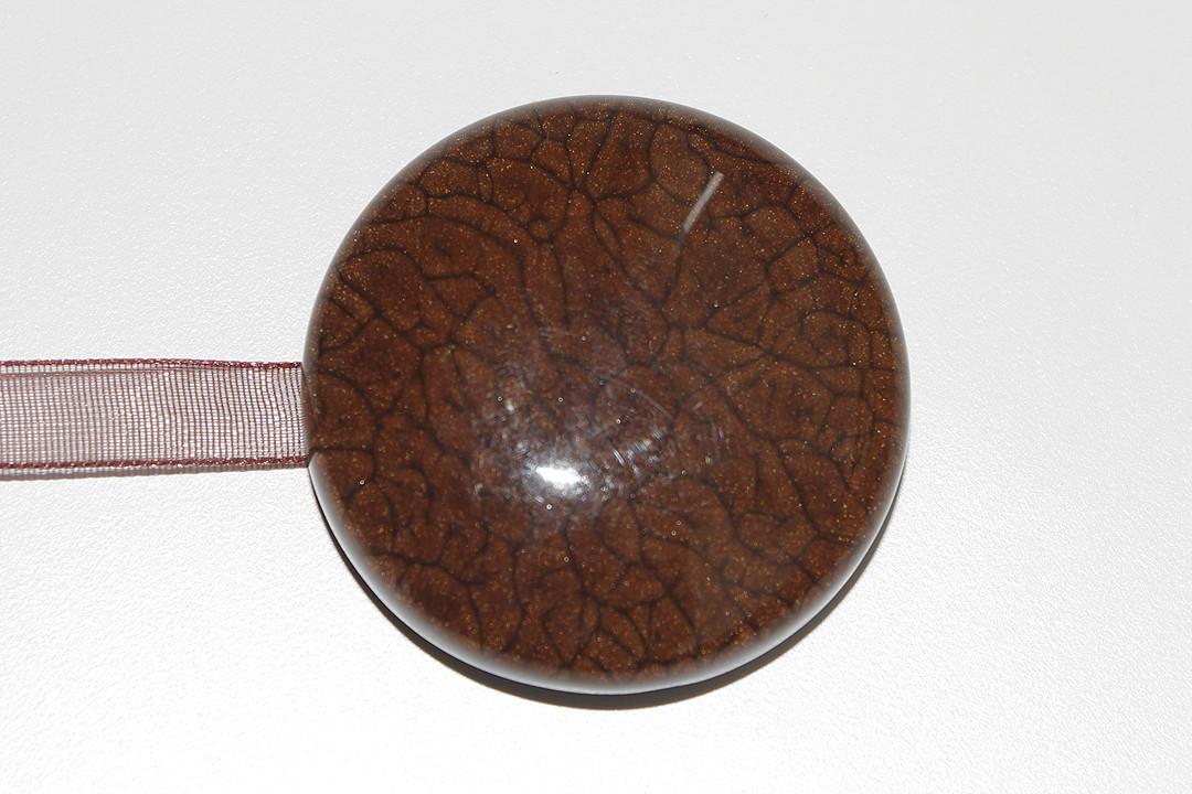 Декоративный магнит подхват для штор и тюлей К22