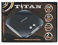 Titan 3 игровая приставка (500 встроенных игр 8-16 бит) чёрный