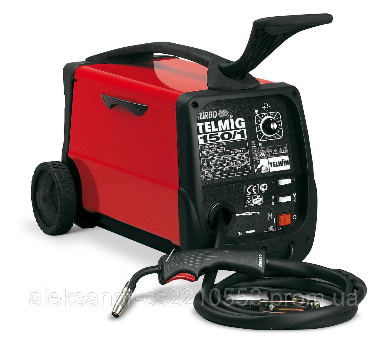 Telwin Telmig 150/1 Turbo - Сварочный полуавтомат 30-145 А