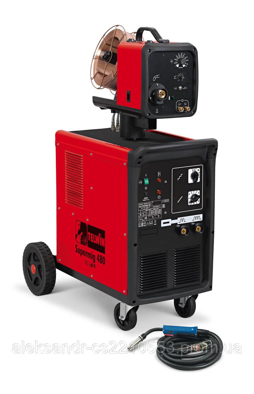 Telwin Supermig 480 Aqua - Зварювальний напівавтомат 50-420 А