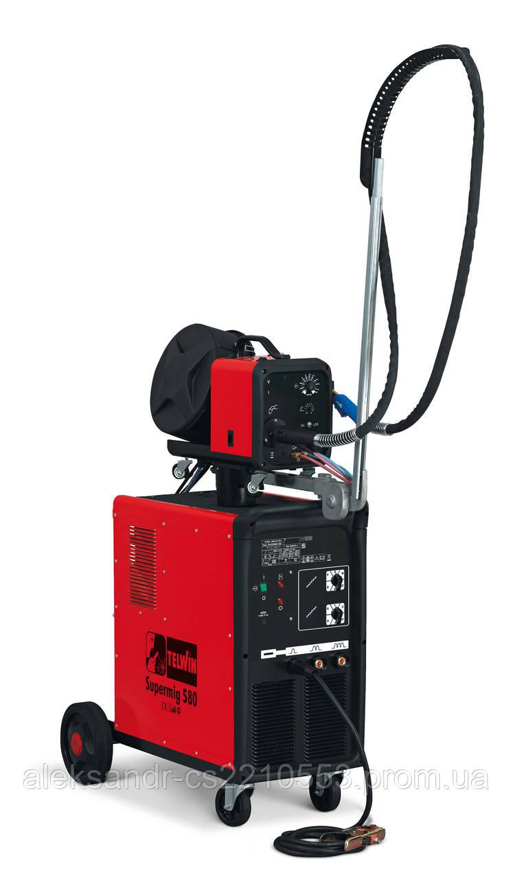 Telwin Supermig 580 Aqua - Зварювальний напівавтомат 60-550 А