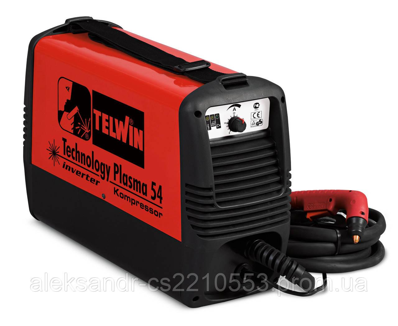 Telwin Technology Plasma 54 Kompresor - Апарат плазмового різання (Діаметром 10 мм)