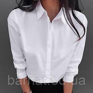 Рубашка белая S-M;M-L р-р.